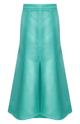Женская джинсовая юбка KENZO бирюзового цвета, арт. FA52JU2536ES | Фото 1