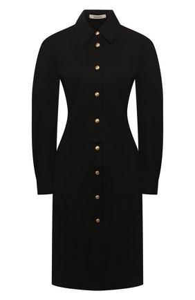 Женское хлопковое платье DOROTHEE SCHUMACHER черного цвета, арт. 743134/DESERT ADVENTURES | Фото 1