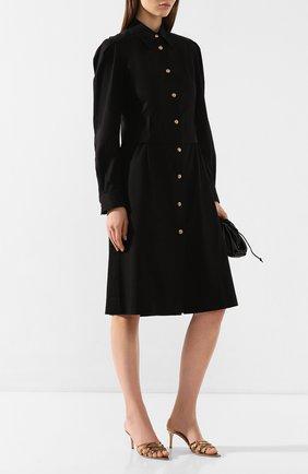 Женское хлопковое платье DOROTHEE SCHUMACHER черного цвета, арт. 743134/DESERT ADVENTURES | Фото 2