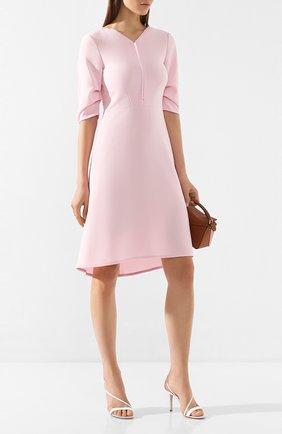 Женское платье DOROTHEE SCHUMACHER розового цвета, арт. 742024/SM00TH ATTRACTI0N | Фото 2