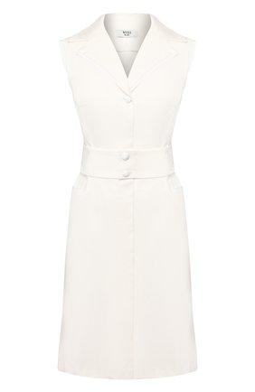 Женское хлопковое платье WEILL белого цвета, арт. 125011 | Фото 1