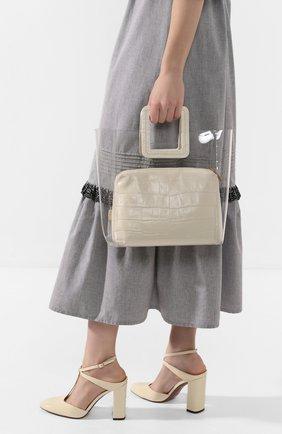 Женская сумка shirley  STAUD кремвого цвета, арт. 27-9013 | Фото 2