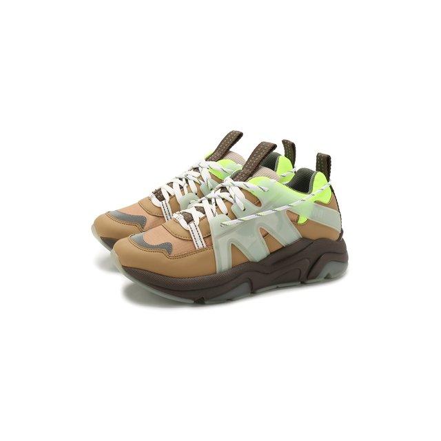 Комбинированные кроссовки Ganni — Комбинированные кроссовки