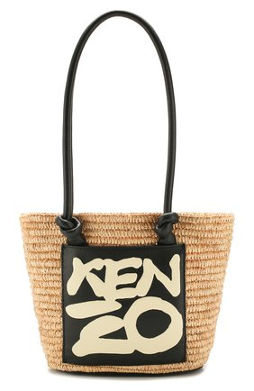 Женская сумка basket KENZO кремвого цвета, арт. FA52SA500B09 | Фото 1