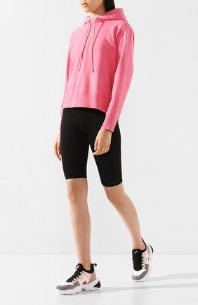 Женские комбинированные кроссовки HOGAN серого цвета, арт. HXW5250CH20NLA | Фото 2