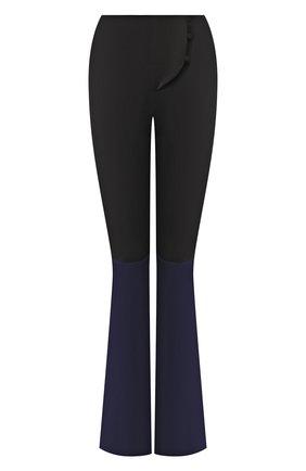 Женские брюки SUBTERRANEI черного цвета, арт. SUBSS20-016 | Фото 1