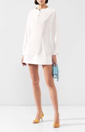 Женское хлопковое платье RUBAN белого цвета, арт. RРS20 - 10.2.51.1 | Фото 2