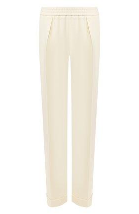 Женские шерстяные брюки JM STUDIO белого цвета, арт. JMSS2005 | Фото 1
