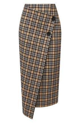 Женская шерстяная юбка JM STUDIO разноцветного цвета, арт. JMSS2003 | Фото 1