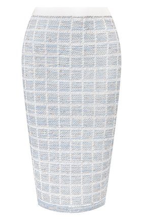 Женская юбка D.EXTERIOR голубого цвета, арт. 50546   Фото 1