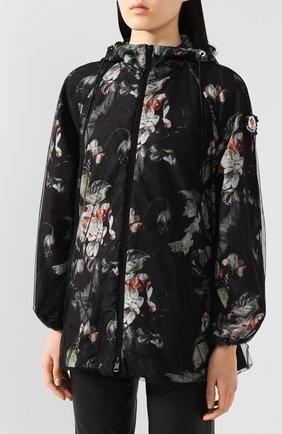 Женская куртка 4 moncler simone rocha MONCLER GENIUS черного цвета, арт. F1-09W-1B705-00-C0544 | Фото 3