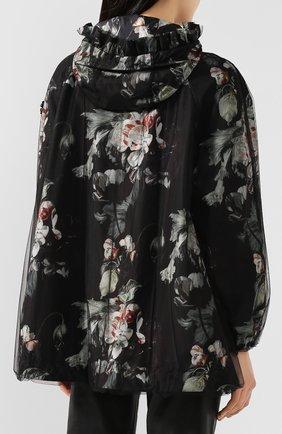 Женская куртка 4 moncler simone rocha MONCLER GENIUS черного цвета, арт. F1-09W-1B705-00-C0544 | Фото 4
