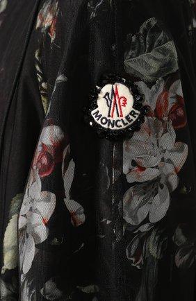 Женская куртка 4 moncler simone rocha MONCLER GENIUS черного цвета, арт. F1-09W-1B705-00-C0544 | Фото 5