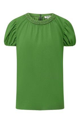 Женская топ KENZO зеленого цвета, арт. FA52T01745AC | Фото 1