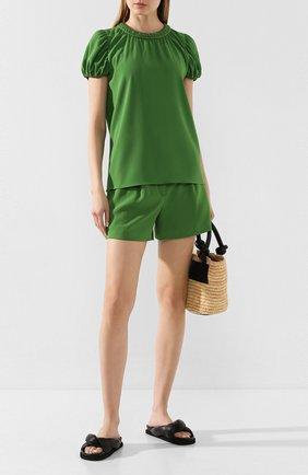 Женская топ KENZO зеленого цвета, арт. FA52T01745AC | Фото 2