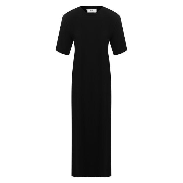 Платье из смеси хлопка и вискозы Ami