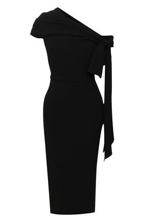 Женское платье ROLAND MOURET черного цвета, арт. SS20/S0901/F2241 | Фото 1