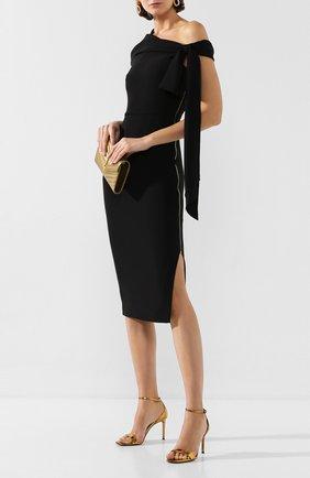Женское платье ROLAND MOURET черного цвета, арт. SS20/S0901/F2241 | Фото 2