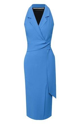 Женское платье ROLAND MOURET синего цвета, арт. SS20/S0902/F2241 | Фото 1
