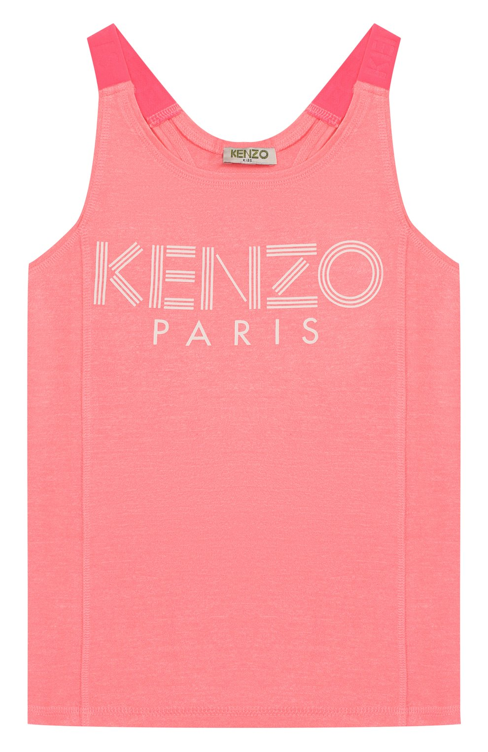 Детская топ KENZO розового цвета, арт. KQ10288 | Фото 1