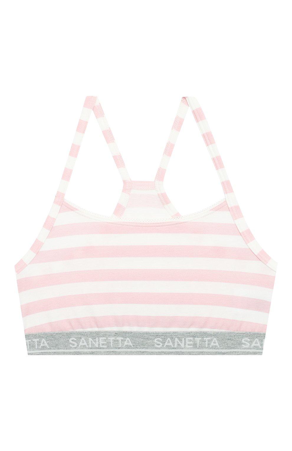 Детский бра-топ SANETTA розового цвета, арт. 346031 3526   Фото 1