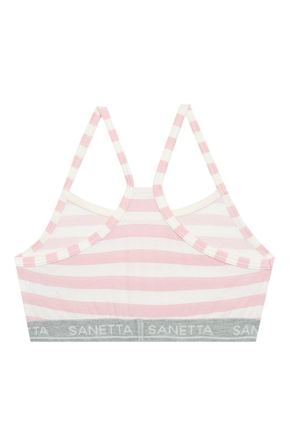 Детский бра-топ SANETTA розового цвета, арт. 346031 3526   Фото 2