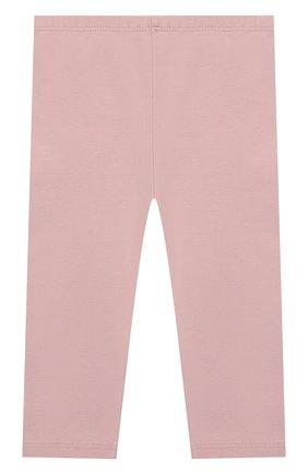 Детские хлопковые брюки SANETTA розового цвета, арт. 10066 3037 | Фото 2