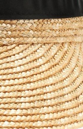 Детская козырек IL TRENINO бежевого цвета, арт. 20 7240/E0   Фото 3