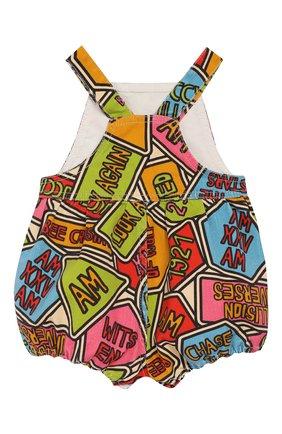 Детский хлопковый комбинезон GUCCI разноцветного цвета, арт. 595898/XDA15 | Фото 2