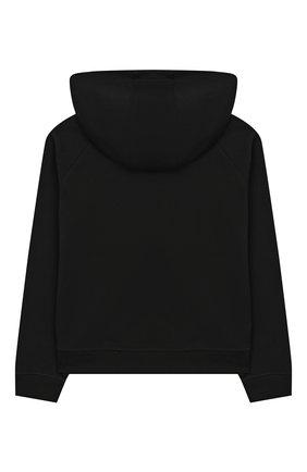 Детский хлопковая толстовка BURBERRY черного цвета, арт. 8027916 | Фото 2