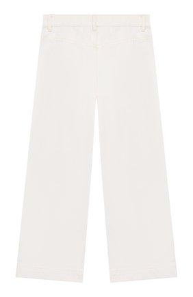 Детские джинсы BURBERRY белого цвета, арт. 8026387   Фото 2