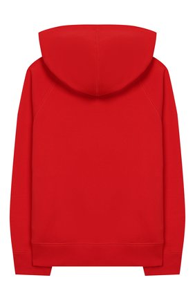 Детский хлопковая толстовка BURBERRY красного цвета, арт. 8026202 | Фото 2