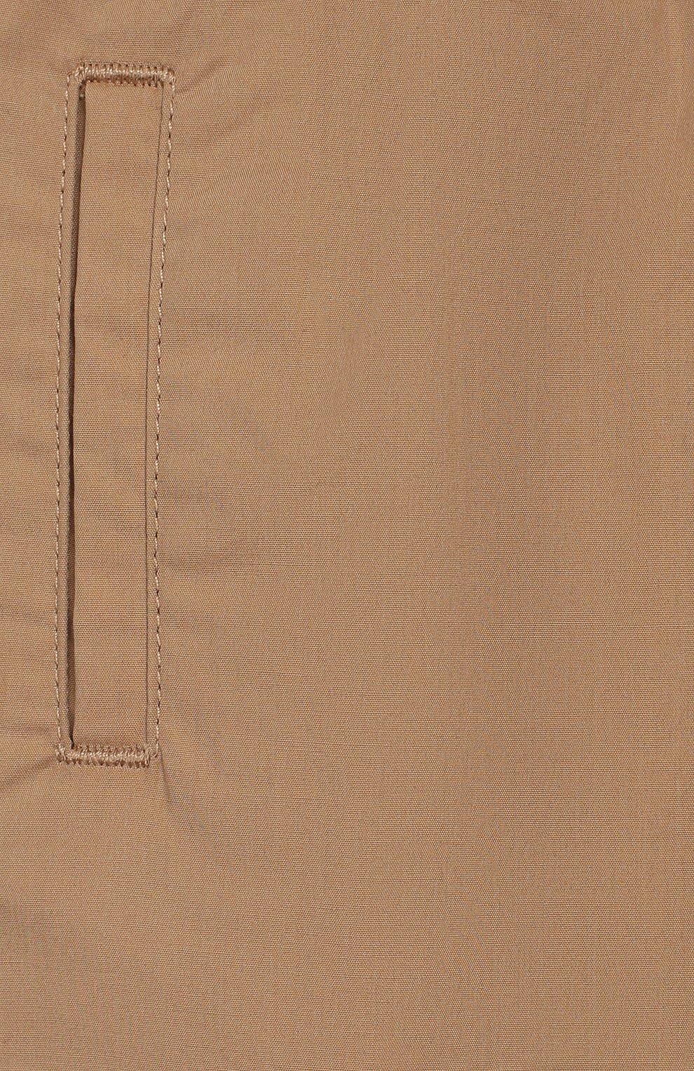 Детские хлопковые шорты DOLCE & GABBANA бежевого цвета, арт. L12Q71/G7WFY   Фото 3