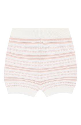 Детские хлопковые шорты LORO PIANA розового цвета, арт. FAI9892 | Фото 1