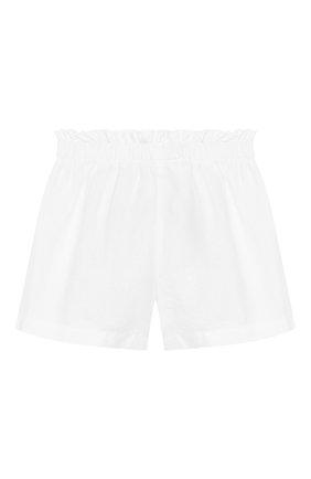 Детские льняные шорты IL GUFO белого цвета, арт. P20PS063L6009/10A-12A | Фото 2