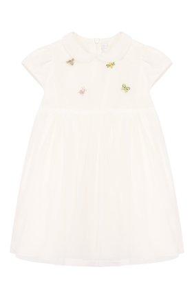 Женский платье IL GUFO бежевого цвета, арт. P20VM560H0018/12M-18M | Фото 1
