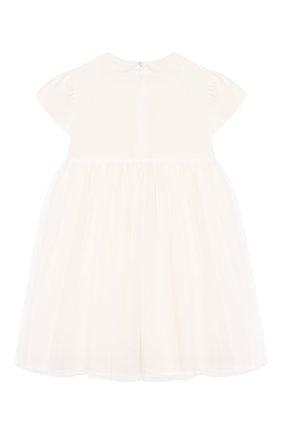 Женский платье IL GUFO бежевого цвета, арт. P20VM560H0018/12M-18M | Фото 2