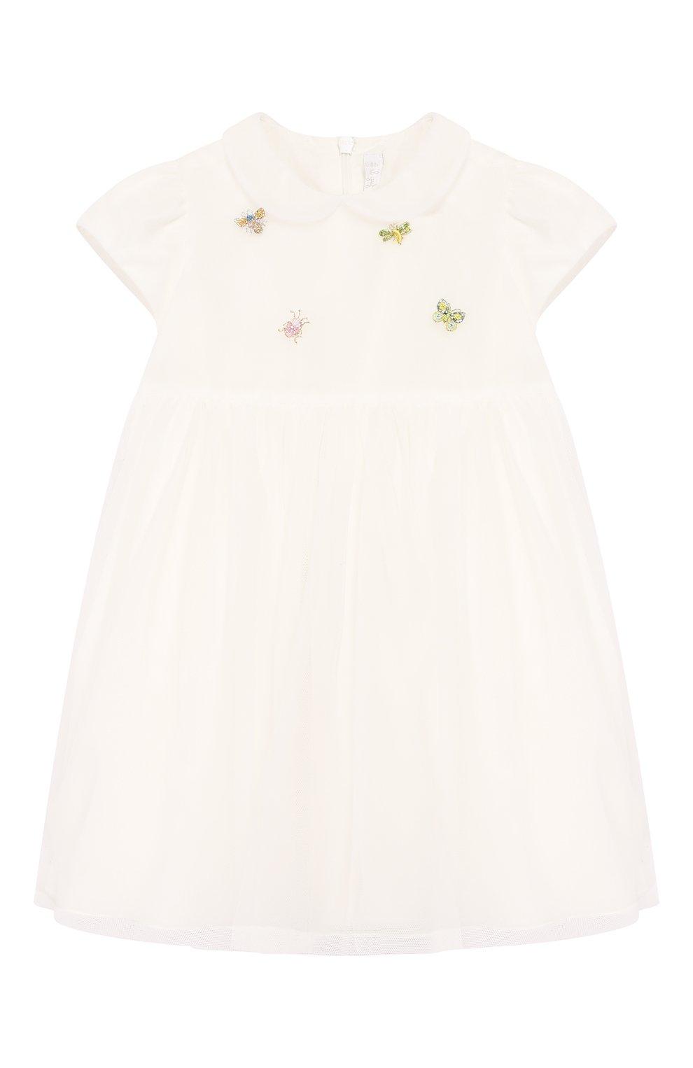 Женский платье IL GUFO бежевого цвета, арт. P20VM560H0018/24M   Фото 1