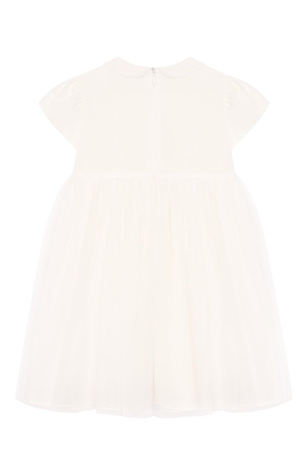 Женский платье IL GUFO бежевого цвета, арт. P20VM560H0018/24M   Фото 2