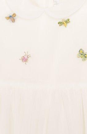 Женский платье IL GUFO бежевого цвета, арт. P20VM560H0018/24M   Фото 3