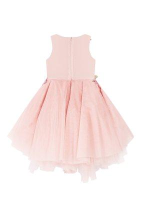 Детское платье MISCHKA AOKI розового цвета, арт. SS20158/10-12   Фото 2