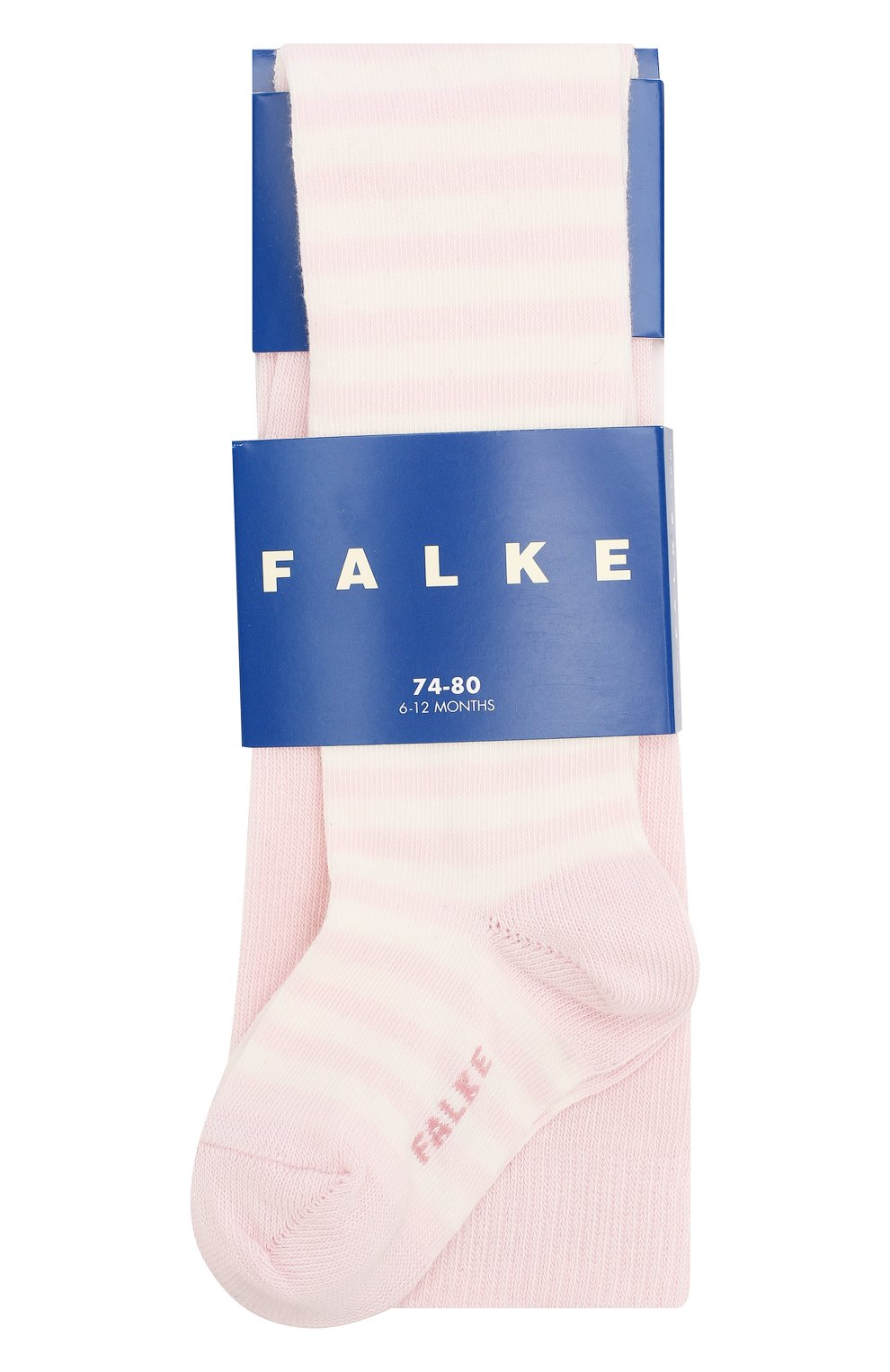 Детские хлопковые колготки FALKE розового цвета, арт. 13840 | Фото 1