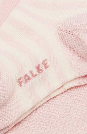 Детские хлопковые колготки FALKE розового цвета, арт. 13840 | Фото 2