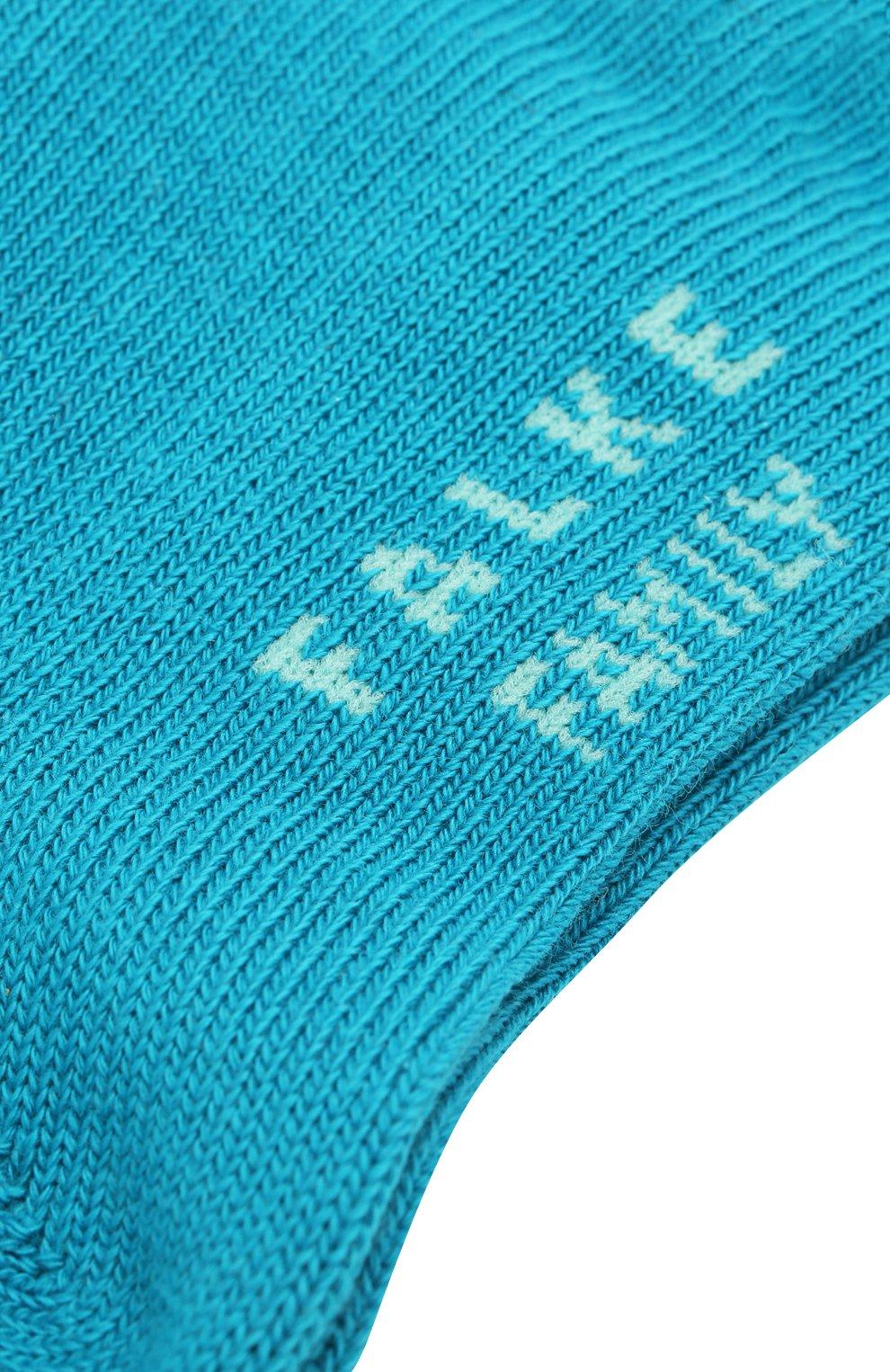Детские хлопковые носки FALKE голубого цвета, арт. 10631 | Фото 2