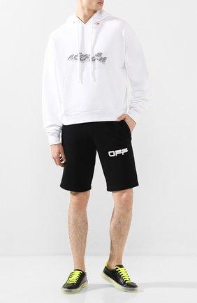 Мужские кожаные кеды PHILIPP PLEIN черного цвета, арт. S20S MSC2576 PCO008N | Фото 2