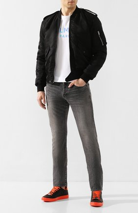 Мужские кожаные кеды PHILIPP PLEIN черного цвета, арт. S20S MSC2660 PLE008N | Фото 2