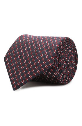 Мужской шелковый галстук BOSS красного цвета, арт. 50429863 | Фото 1