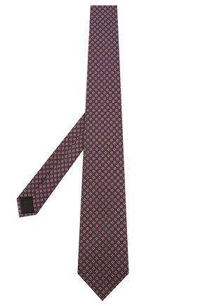 Мужской шелковый галстук BOSS красного цвета, арт. 50429863 | Фото 2