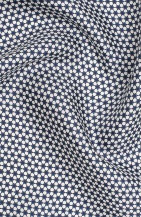 Мужской шелковый платок BOSS синего цвета, арт. 50429469 | Фото 2