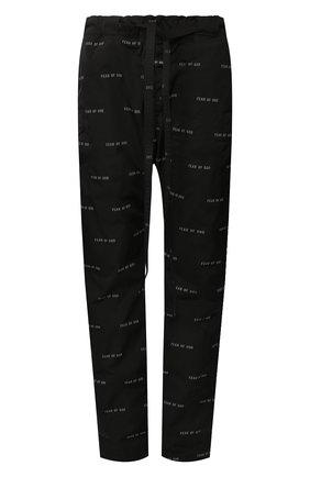 Мужской брюки FEAR OF GOD черного цвета, арт. 6H19-4006/APN | Фото 1